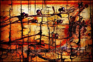3642 Grunge Wood by AngelEowyn