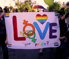 Gay Marriage Rally 4 by Rosary0fSighs