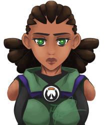 Overwatch: Kona by MadCheshireFox