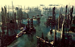 Future Cityscape by jrmalone