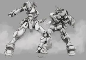 Old Favorites Die Hard by GundamMeister