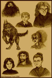 Some HP adults by kykywka