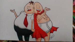 Mr. Krupp and Captain Underpants by NoeruMultiWeaboo360