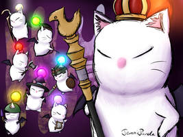 Good King Moggle Mog by TemmiePanda
