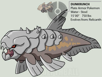 DUNKRUNCH - the plate armor by depthball