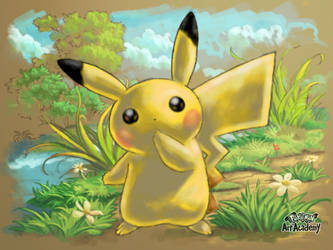 [Re-Up from Mv] Pikachu! by ArkaniaNEO
