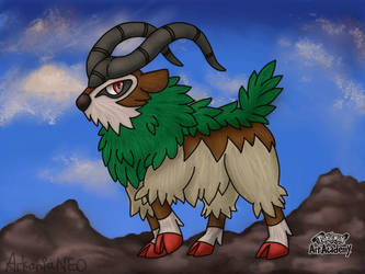 Gogoat! (Re-up from yesterday) by ArkaniaNEO