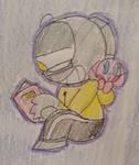 Hoodie buddy by doodledork01