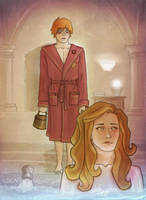 In The Prefect's Bathroom by MargaHG