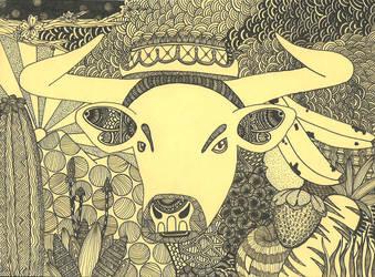 Brazen Bull by Wobnairian