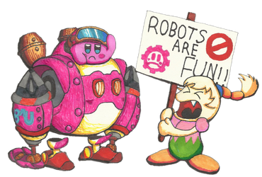Robots Are Fun! by Cyberguy64
