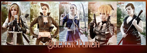 Sucker Punch cosplay group by ThelemaTherion