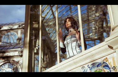 Elizabeth - trapped in Columbia by ThelemaTherion