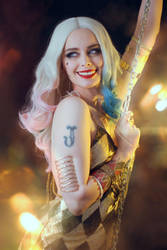Harley Quinn night club by ThelemaTherion