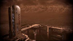 Mass Effect 3 Mars Dreamscene by droot1986