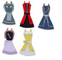 Fullmetal Alchemist Dress Design by AkiUrameshi