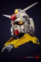 RX-78-2: Gundam by aminkr
