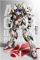 Gundam Barbatos by aminkr