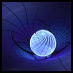 Blue lamp by manapi
