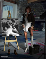 my virtual model by michaelelsaesser69