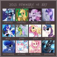 2013 Summary of Art by steffy-beff