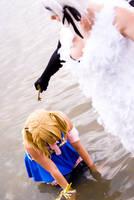 Fairy Tail: Angel vs Lucy by KuraiOfAnagura