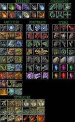 wc3 Dragon themed Icons by The-Monstrum