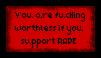 You should be in prison by xHappySinnerx