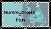 NummyPixels fan stamp by xHappySinnerx