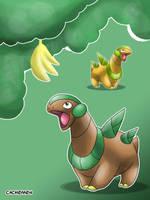 Fruitius - Tropius Baby by Cachomon
