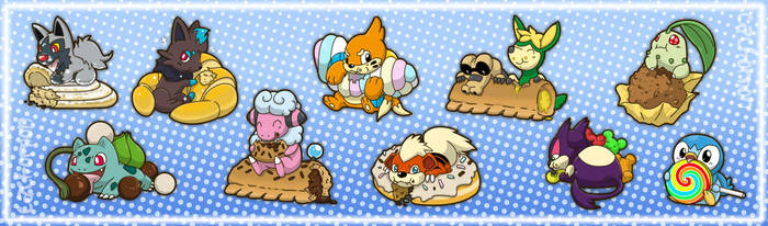 Poke-Sweets by Cachomon