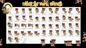 Mikey the Vulpix Shimeji +FREE+ by Cachomon