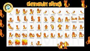 Charmander Shimeji +FREE+ by Cachomon