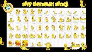 Charmander Shiny Shimeji +FREE+ by Cachomon