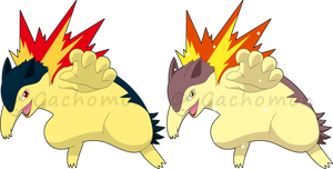 +157 - Typhlosion+ by Cachomon