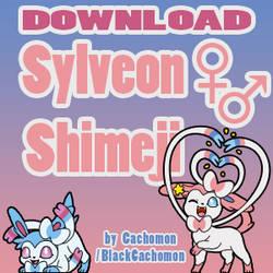 Sylveon Shimeji +FREE+ [SFW, NSFW-, NSFW+] by Cachomon