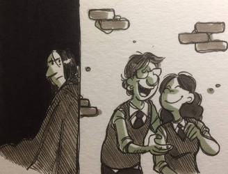 James Lily Snape by The0nePotato