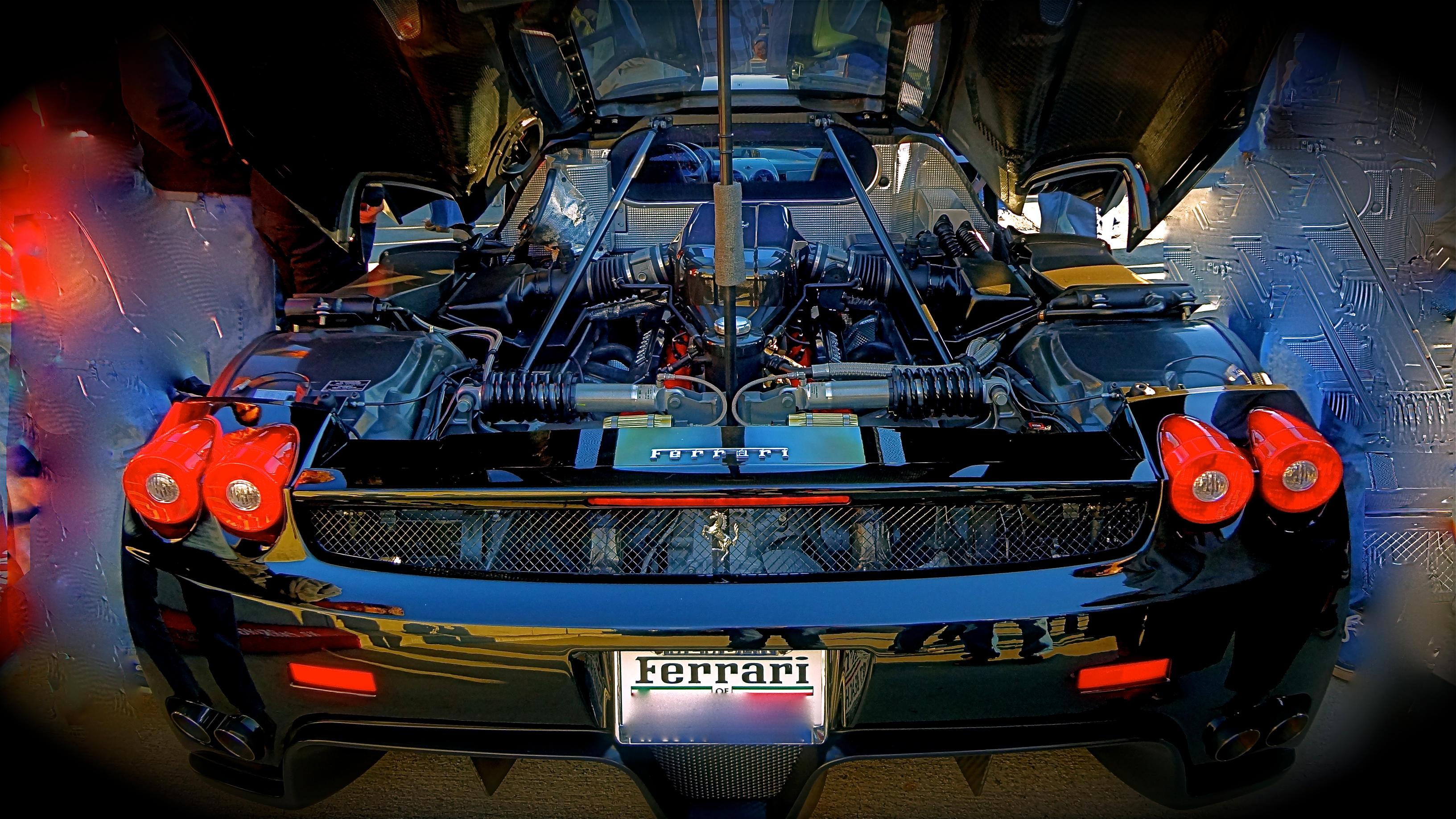 Ferrari Enzo engine bay by MercilessOne on DeviantArt