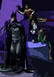 Batman Am I Blue by Asisko4