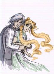 Serenity and prince Diamond by Asisko4