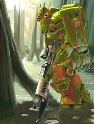 Ithorian Commando by mattPLOG
