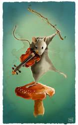 Violin Time by fablau