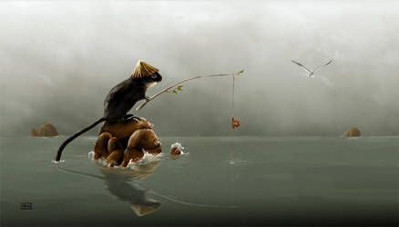 Sea Mouse by fablau