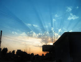 sunrays by beyonme