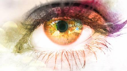 edited eye by MotherOfArt