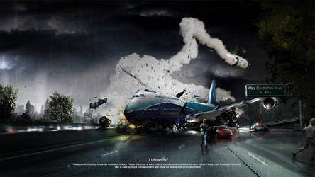 Luftbanza Airlines by Koshelkov
