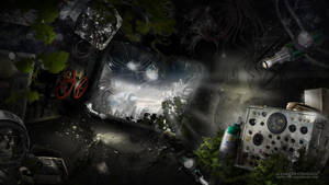 Speed Art - The Universim Landing by Koshelkov