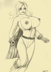 #005 Powergirl by Edgar-gfx