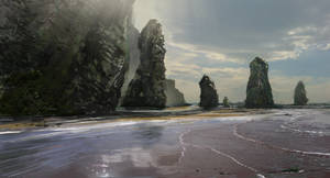 Quick 45mins environmental painting by RobbieMcSweeney