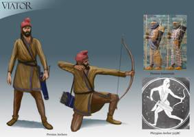 Persian Archer by RobbieMcSweeney